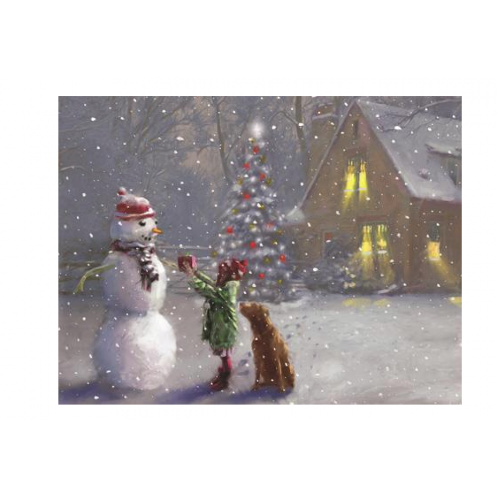 Boxed Cards - Christmas - Snowman Gifts