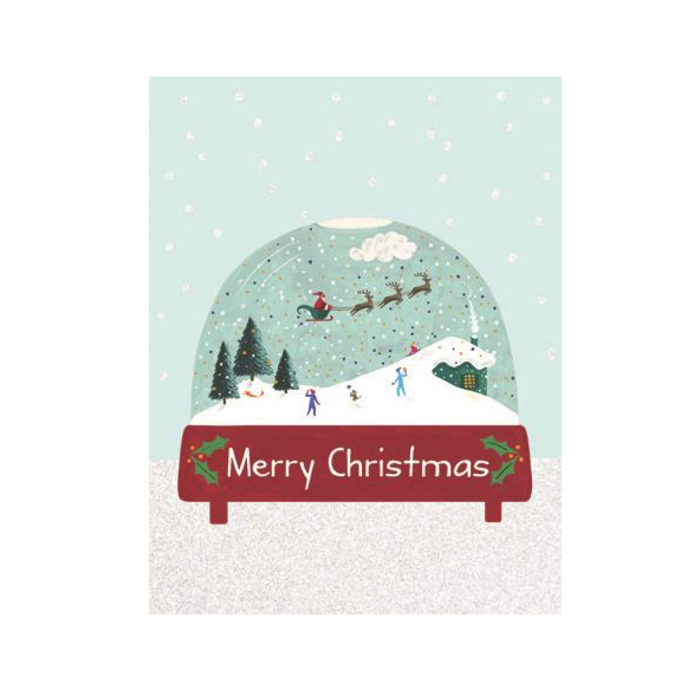 Boxed Cards - Christmas - Merry Christmas Snowglobe