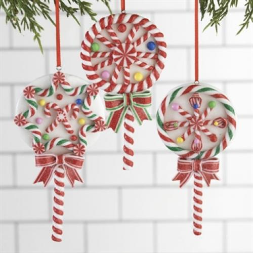 Ornament Candy Suckers 5in.