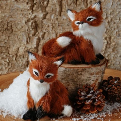 Ornament Fox 4 Inch