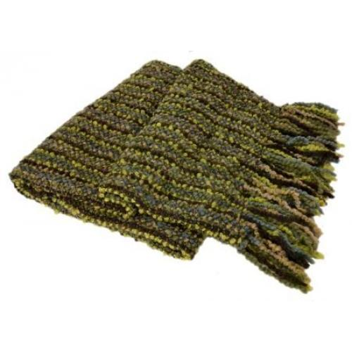 Throw Blanket Stria Leaf 40x70