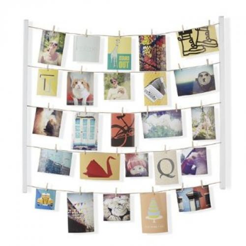 Photo Display Hangit White