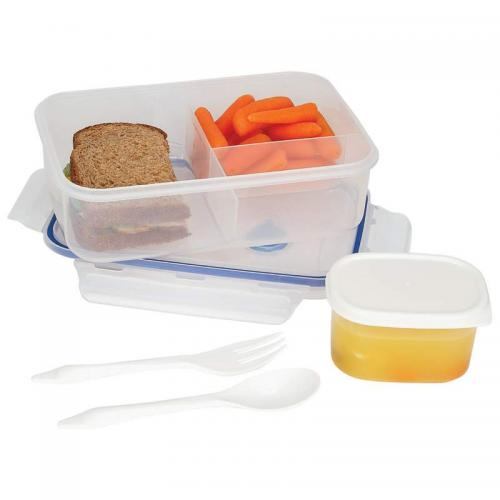 34oz Locking Divided Lunch Container (lacuisine)