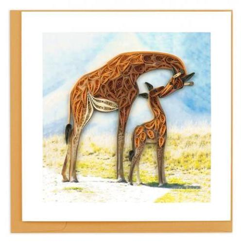 Any Occasion - Quilling Card - Giraffe