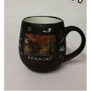 Mug New Collection Black With Square Picture