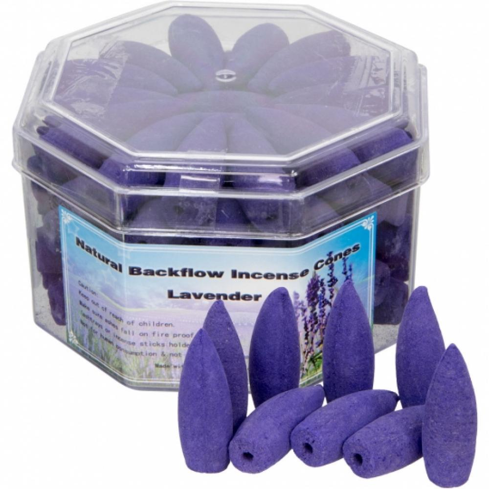 Backflow Incense Cones Box Of 70 Cones Lavender