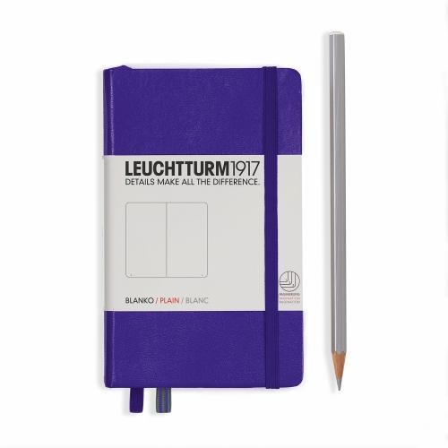 Notebook - Pocket - Purple - Plain