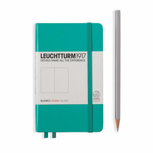 Notebook - Pocket - Emerald - Plain