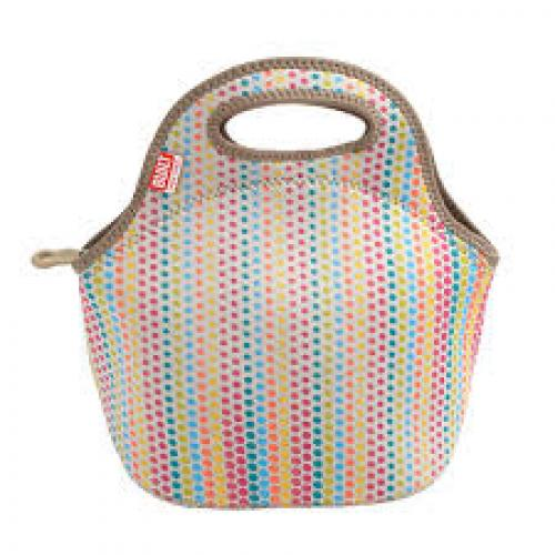BUILT NY Gourmet Getaway Lunch Tote Candy Dot
