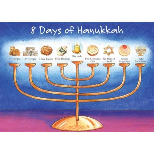Hanukkah - 8 Days Of Hanukkah