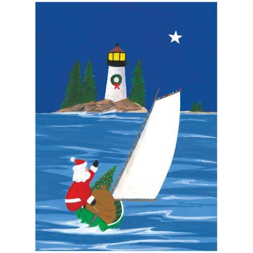 Boxed Cards - Christmas - Sailboat