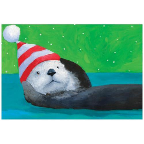 Boxed Cards - Christmas - Otter