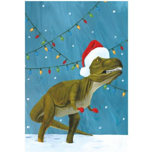 Boxed Cards - Christmas - Dinosaur
