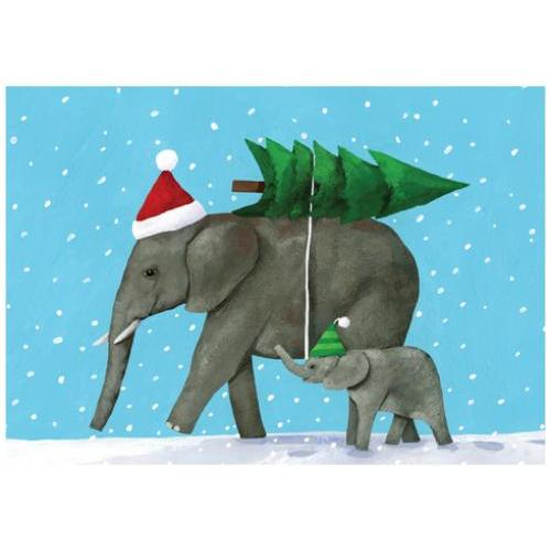 Boxed Cards - Christmas - Elephant