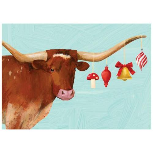 Boxed Cards - Christmas - Steer