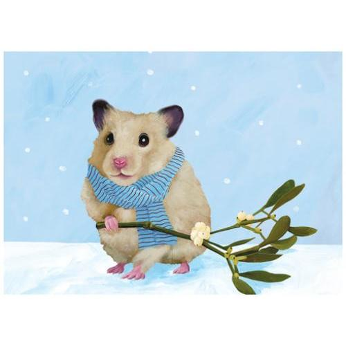 Boxed Cards - Christmas - Hamster