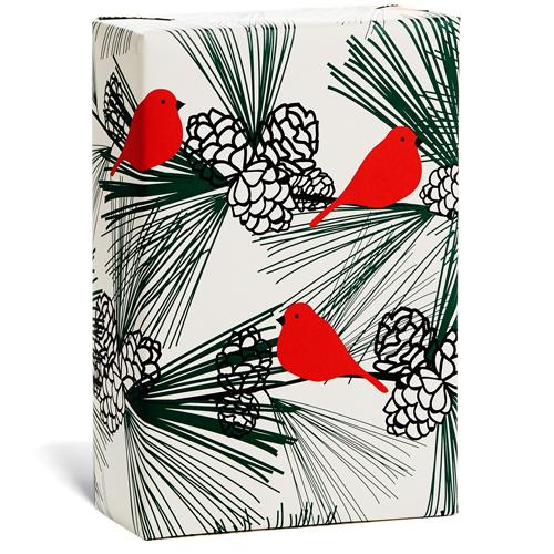 Christmas - Gift Wrap - Pine Cones