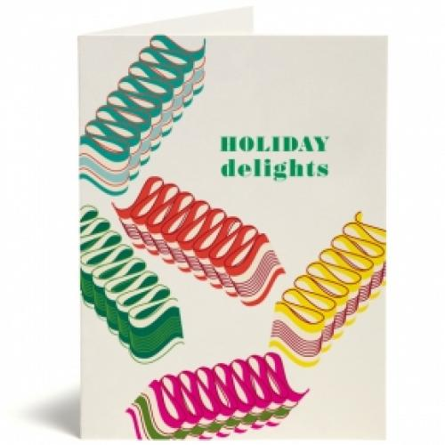 Christmas - Boxed Card - Ribbon Candy