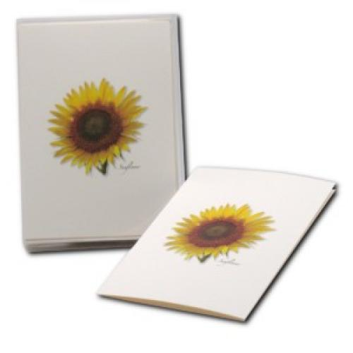Boxed Card - Sunflower