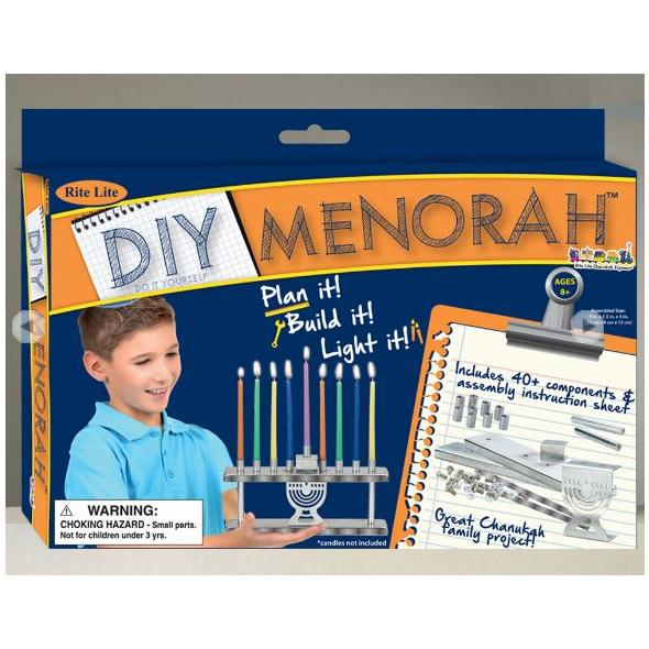 Chanukah Menorah - Diy Menorah Kit