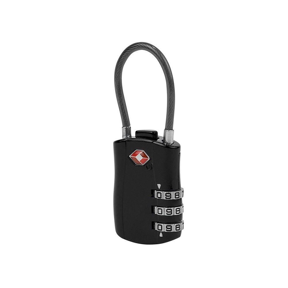 Tsa Accepted Cable Lock W/ Combination