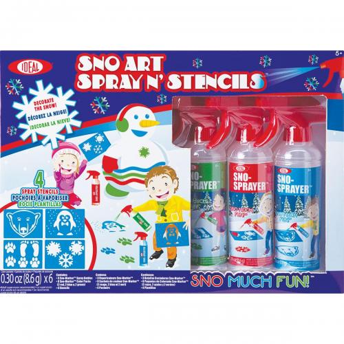 Sno Scapes Sprayer And Stencil Kit