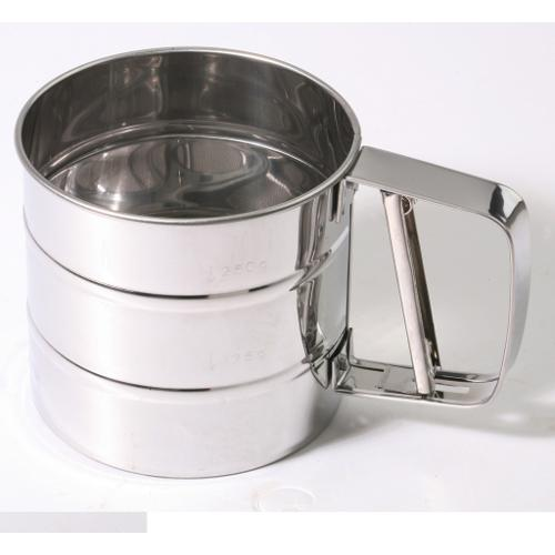 Flour Sifter Trigger Metal 3cup