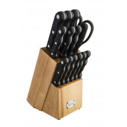 Kitchen Knife Set 15 Piece Set With Block