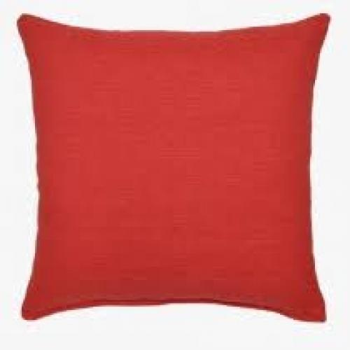 Grandstand Coral Pillow 17in X 17in
