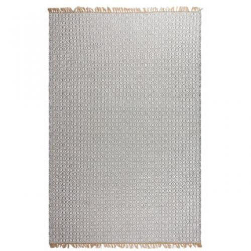 Estate Collection Outdoor Lancut Grey Rug 2x3 Handwoven Pet