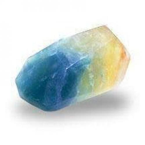 Palm Stone 1.5oz Aquamarine