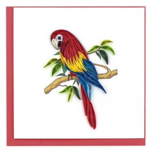 Any Occasion - Quilling Card - Parrot