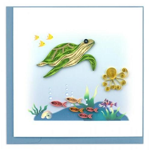 Any Occasion - Quilling Card - Turtle