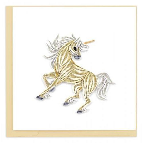 Any Occasion - Quilling Card - Unicorn