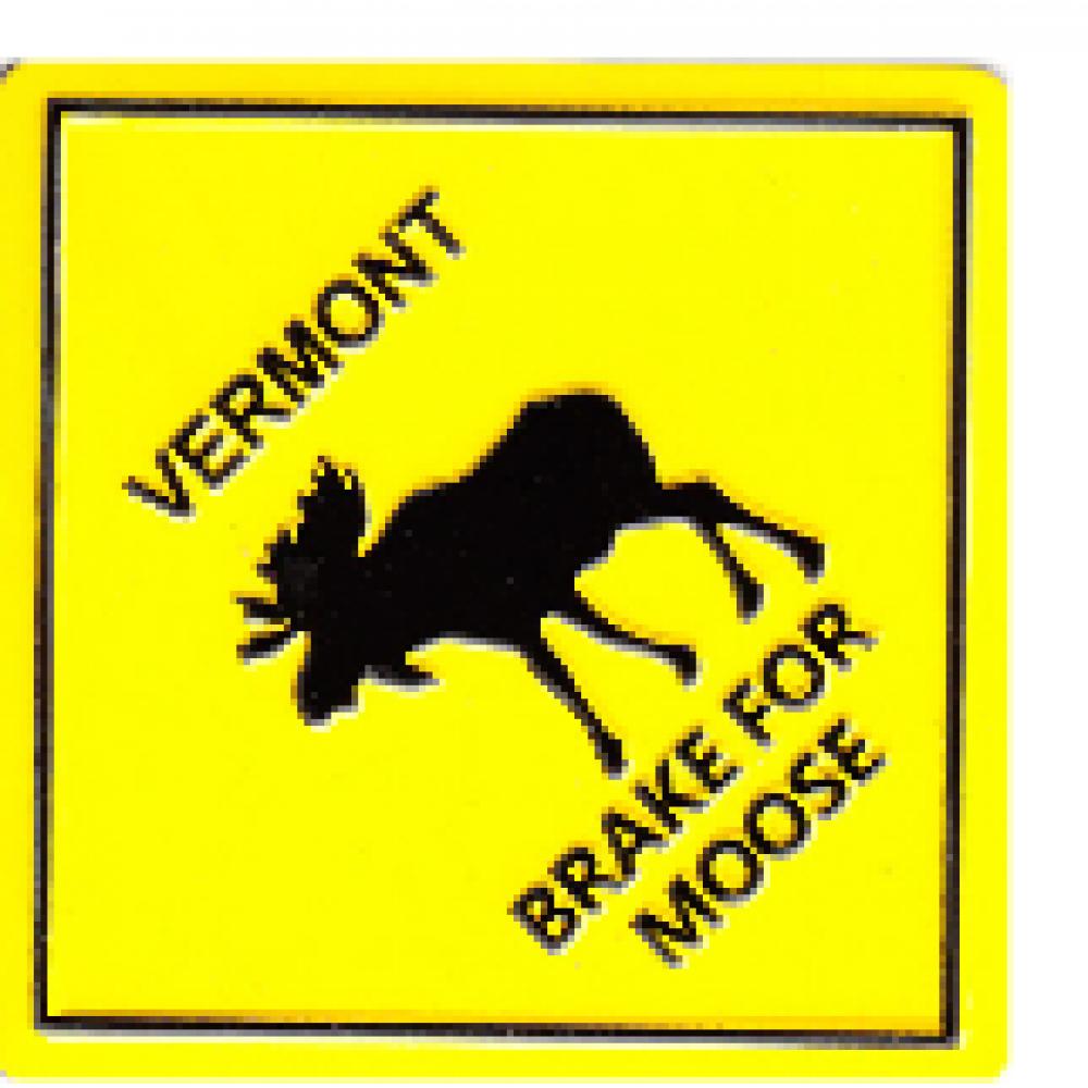Magnet Moose Crossing