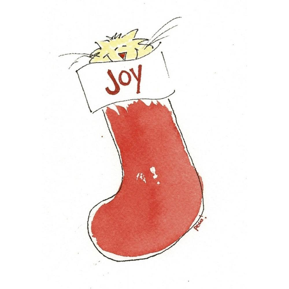 Christmas - Cat Joy Stocking