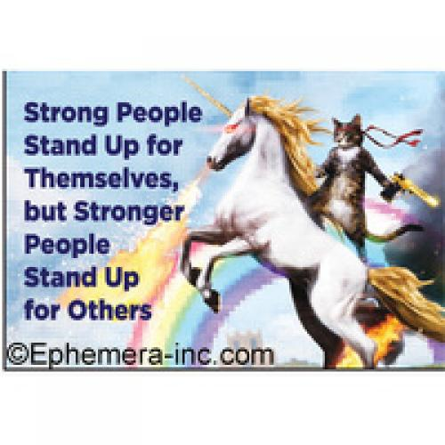 Magnet - Stronger People Unicorn