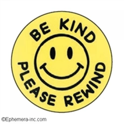 Round Magnet - Be Kind Rewind