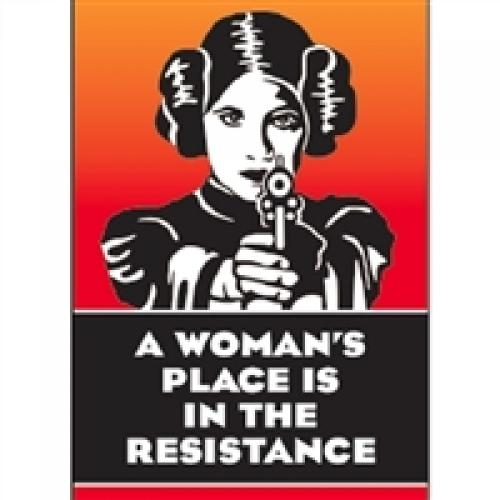 Magnet - Womans Place Is In The Resistance