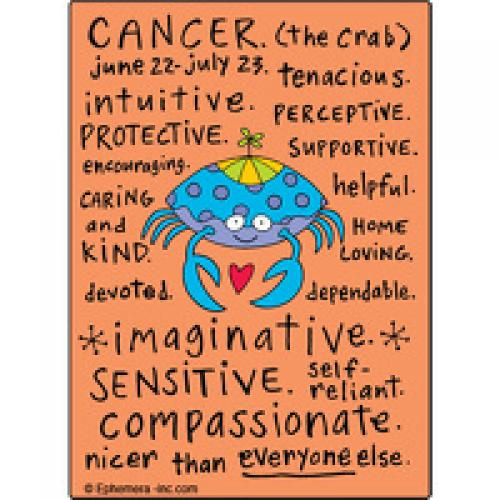Magnet Zodiac - Cancer