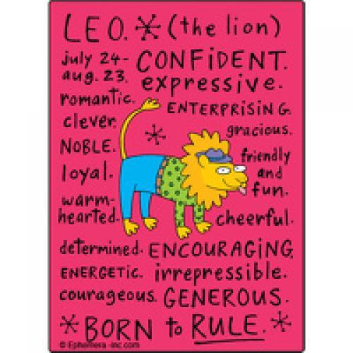 Magnet Zodiac - Leo