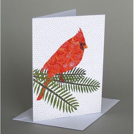Vermont Artist - Winter - Cardinal