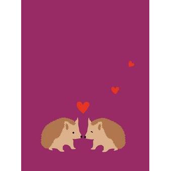 Valentine - Hedgehog Couple