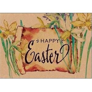 Easter Card - Daffodils - Well Said
