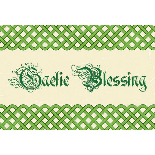 St Patricks Day - Celtic Braided Knot Border