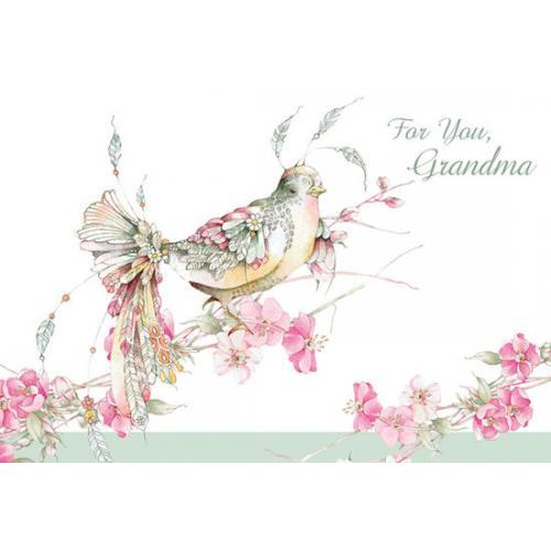 Easter - Grandmother - Blush Bird