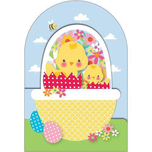 Easter - Chicks In Yellow Basket