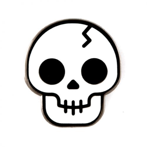Enamel Pin - Skull