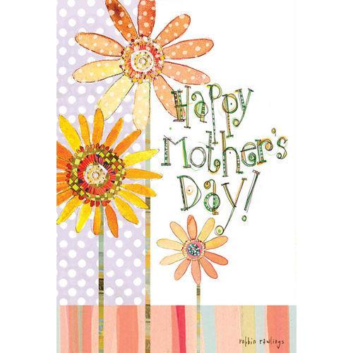 Mothers Day - Flowers And Dots
