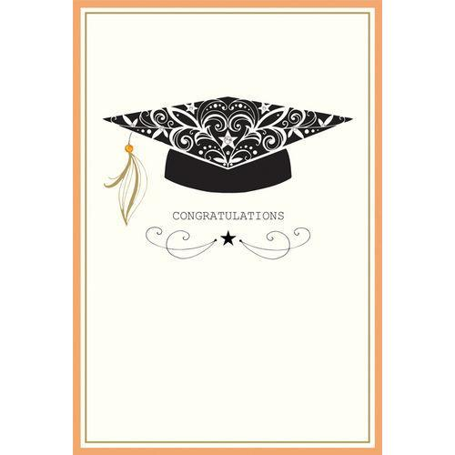 Graduation - Filigree Mortarboard